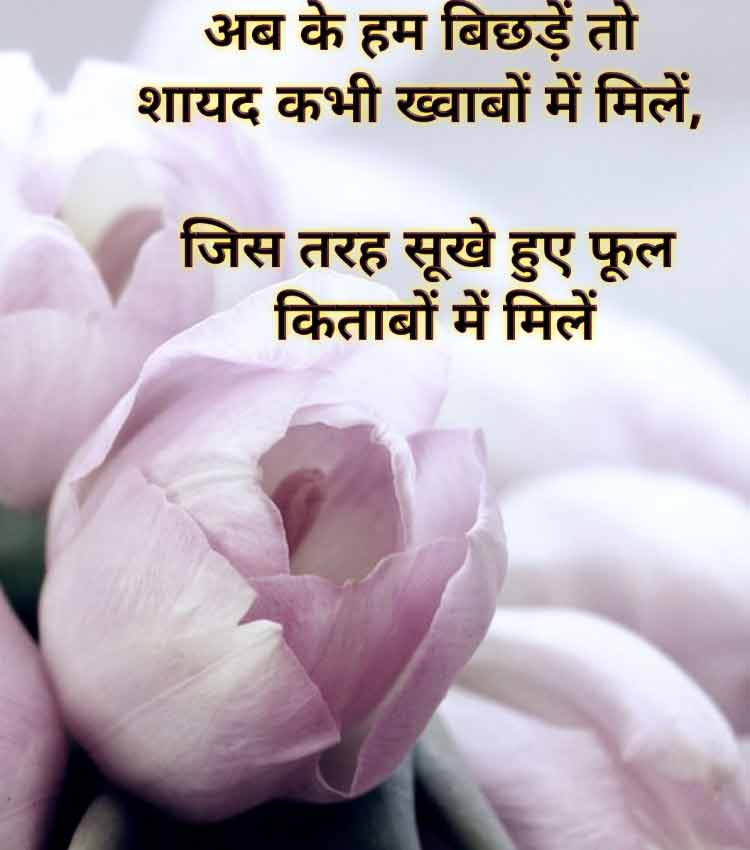 shayari on flowers in hindi