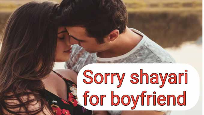 sorry shayari for boyfriend