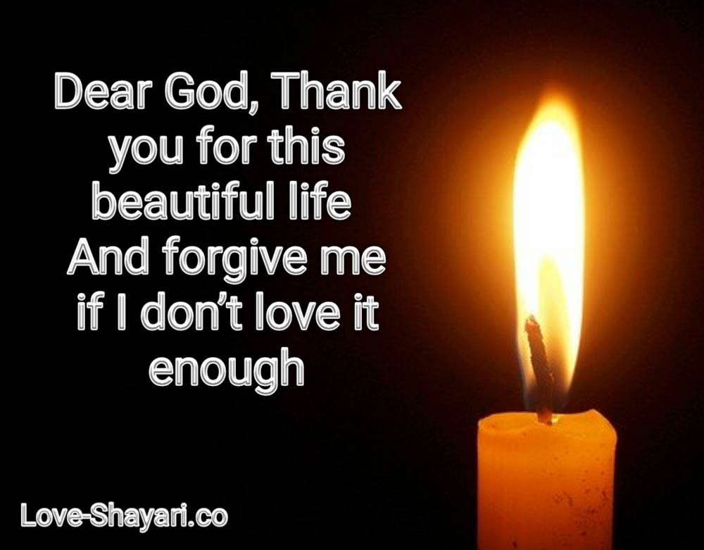 thank god for life quote