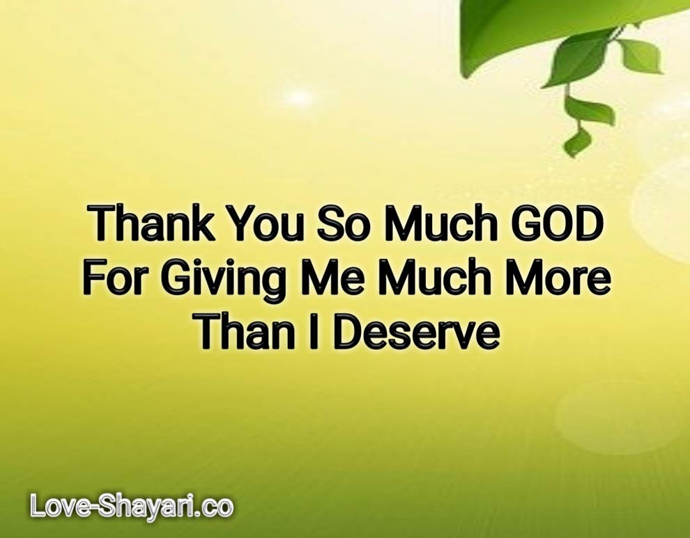 Thank-you-God quotes